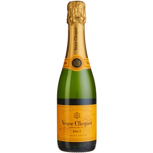 Veuve Clicquot Pinot Noir Brut Champagne (1 x 0.375 l)