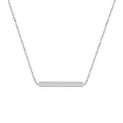 Feine Halskette aus Gold Bar