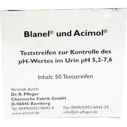 Teststreifenheft z. Bestimmung d. Urin-ph-Wertes
