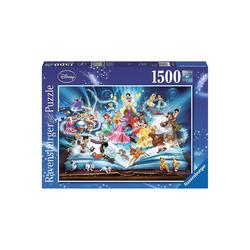 Ravensburger Puzzle Puzzle 1500 Teile, 80x60 cm, Disney's magisches, Puzzleteile