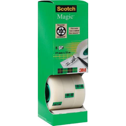Scotch 7100026960 Klebeband Scotch® Magic™ 810 Matt (L x B) 33m x 19mm 8St.
