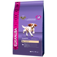 Eukanuba Puppy Small Medium Lamm & Reis 12 kg