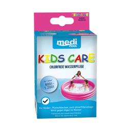 mediPOOL Kids Care Planschbecken-Pflege, Ideale, chlorfreie Wasserpflege für Planschbecken, 1 Packung = 5 x 50 ml - Beutel