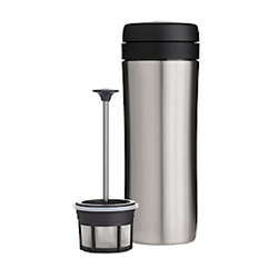 Espro Espro Travel French Press Gebürsteter Stahl, Thermo, Kaffee