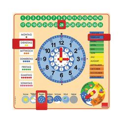 Goula Lernspielzeug GOULA Kalenderuhr
