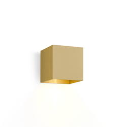 Box 1.0 Halogen Wandleuchte - Gold