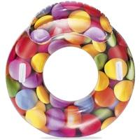 BESTWAY 43186 Aufblasbares Spielzeug für Pool & Strand Mehrfarben Vinyl Schwimmender Lounge-Sessel