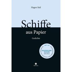 Schiffe aus Papier als Buch von Hagen Süd