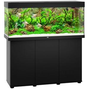 JUWEL AQUARIEN Aquarien-Set Rio 240 LED, 240 Liter, Gesamtmaß BxTxH: 121x41x128 cm schwarz