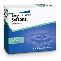 Bausch + Lomb SofLens 38 6 St. / 8.70 BC / 14.00 DIA / -3.75 DPT