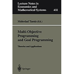 Multi-Objective Programming and Goal Programming - Buch
