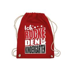 Shirtracer Turnbeutel Ich rocke den Kindergarten - Turnbeutel