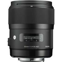 Sigma 35 mm F1,4 DG HSM (A) Canon EF
