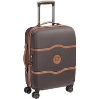 Delsey Chatelet Air Slim Line 4-Rollen Cabin 55 cm / 38 l schokolade