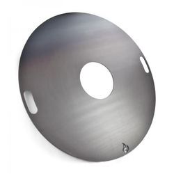 80cm - Feuerplatte - Grillplatte - Grillring - Plancha