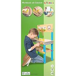 SpielMaus Holz Werkbank mit Zubehör