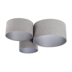 Kiom Deckenleuchte PlaMian grey & silver Ø 91cm