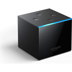 Amazon Fire TV Cube (Amazon Alexa), Streaming Media Player, Schwarz
