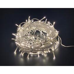 Natsen LED-Lichterkette, 200er LED Lichterkette Weiss 8 Leuchtmodi für Indoor & Outdoor Wasserdicht IP44, Lichterkette für Garten Festival (Lange: ca.22M) wei�