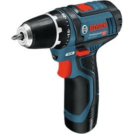 Bosch GSR 12V-15 Professional inkl. 3 x 2,0 Ah + L-Boxx (0615990GS8)