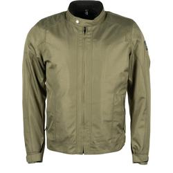 Helstons Stoner Motorrad Textiljacke, grün, Größe L