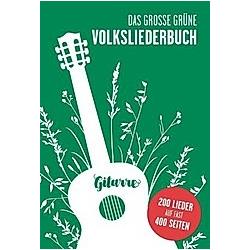 Das Große Grüne Volksliederbuch  Gitarre - Buch