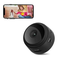 TOPMELON Überwachungskamera (Innen-, 1080P Full HD Überwachungskamera, Mini WiFi Überwachungskamera, Full-HD 1080P, 150 ° Weitwinkel, Unterstützt iOS- und Android-Apps)