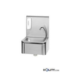 Handwaschbecken mit Wandschutz h21528