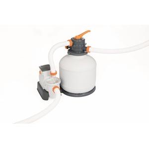 Bestway Sandfilterpumpe für Pools, inkl. Manometer und ChemConnect bis 42m³