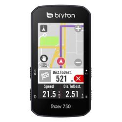 Bryton Rider 750 - Radcomputer Black