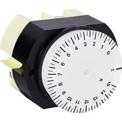Suevia 346 K15 WS Fronttafeleinbau-Zeitschaltuhr analog 230 V/AC 16 A/250V