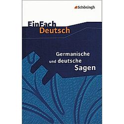 Germanische und deutsche Sagen - Buch