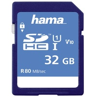 Hama SDHC 32GB Class 10 80MB/s UHS-I