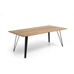 Niehoff Design-Tisch Taiga in Balkeneiche natur massiv