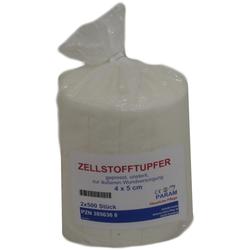Zellstofftupfer 4x5 cm