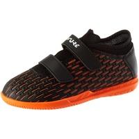 Puma Unisex Kinder Future 6.4 IT V Jr Fußballschuh, Black White-Shocking Orange, 30