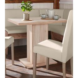 Tisch Hamburg K natur Tischplatte: Holzwerkstoff, Gestell: Holzwerkstoff