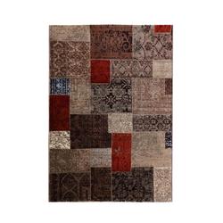 Patchwork Teppich - (Beige; 160 x 230 cm)