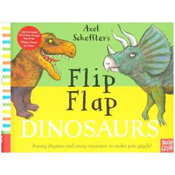 Axel Scheffler's Flip Flap Dinosaurs als Buch von Axel Scheffler