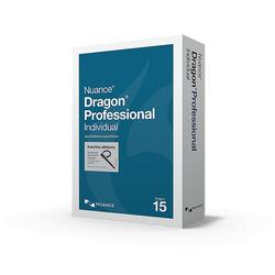 Nuance Dragon Professional Individual Individual 15 pełna wersja z bezprzewodowym zestawem słuchawkowym