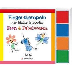 Fingerstempeln Feen und Fabelwesen