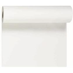Duni DC Tête à Tête Tischläufer 0,4x24m weiß - 6x1 Stück