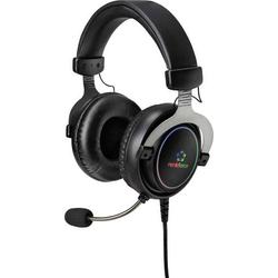 Renkforce RF-GH-300 Gaming Headset USB schnurgebunden Over Ear Schwarz
