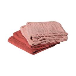 pippi Spucktuch Baby Mullwindeln MUSLIN 4er Pack für Mädchen rosa
