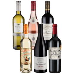 6er-Paket Frankreich - Weinpakete