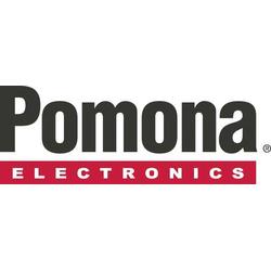 Pomona Electronics 3781-24-0 Messleitung [Abgreifklemmen - Abgreifklemmen] 0.60m Schwarz