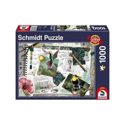 Schmidt Spiele Puzzle Schmidt 58354 - Moodboard - Puzzle 1000 Teile, Puzzleteile