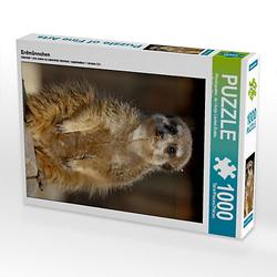 Erdmännchen Lege-Größe 48 x 64 cm Foto-Puzzle Bild von Antje Lindert-Rottke Puzzle
