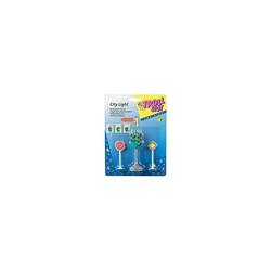 Toy Fun Spielzeug-Auto Ampel mit Schildern