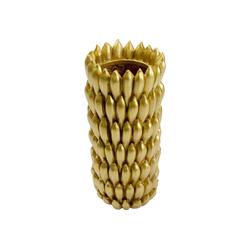KARE Dekovase Vase Banana Gold 79cm